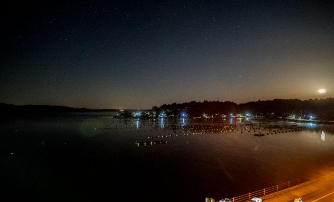 穴水町 夜景