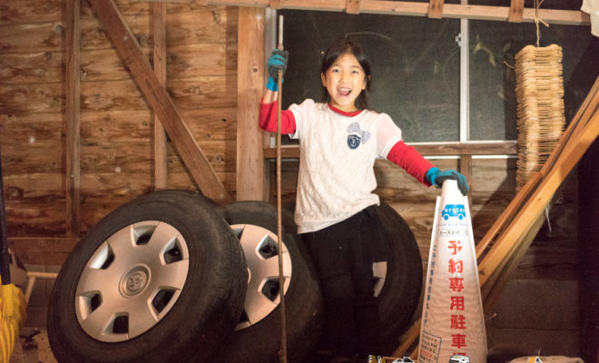 冬用 タイヤ交換 日本海 能登 石川県 穴水町
