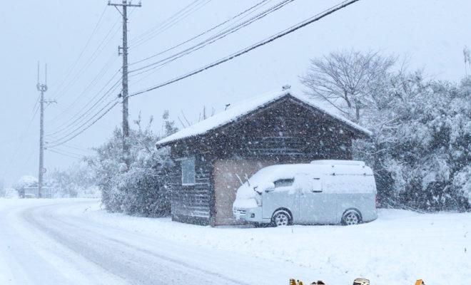 石川県 能登 穴水 能登 大雪