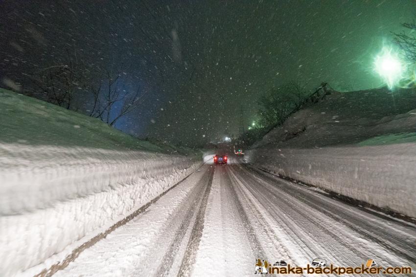 新潟 湯沢町 雪山 雪壁