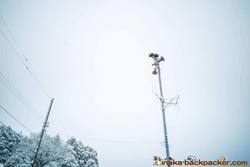 能登 石川県 穴水町 大雪