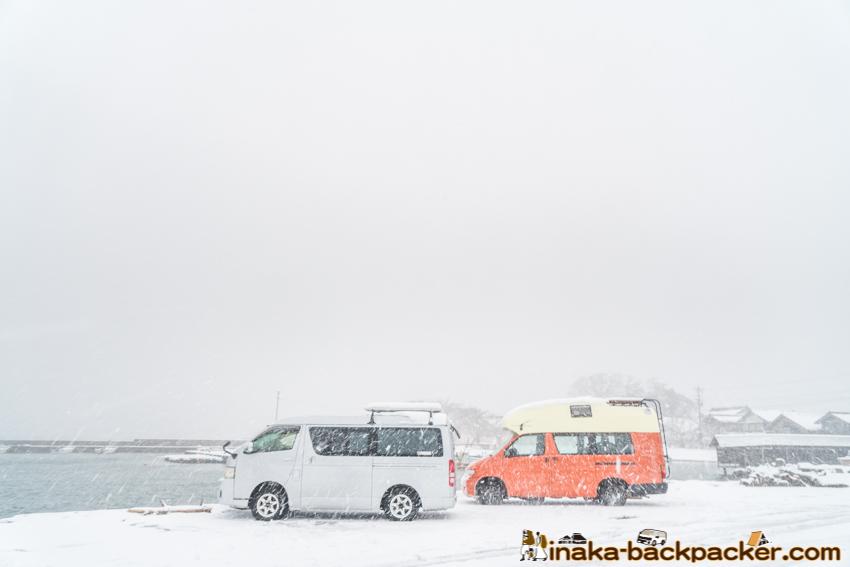冬 車中 仕事 モバイルオフィス 動くオフィス 動く拠点
