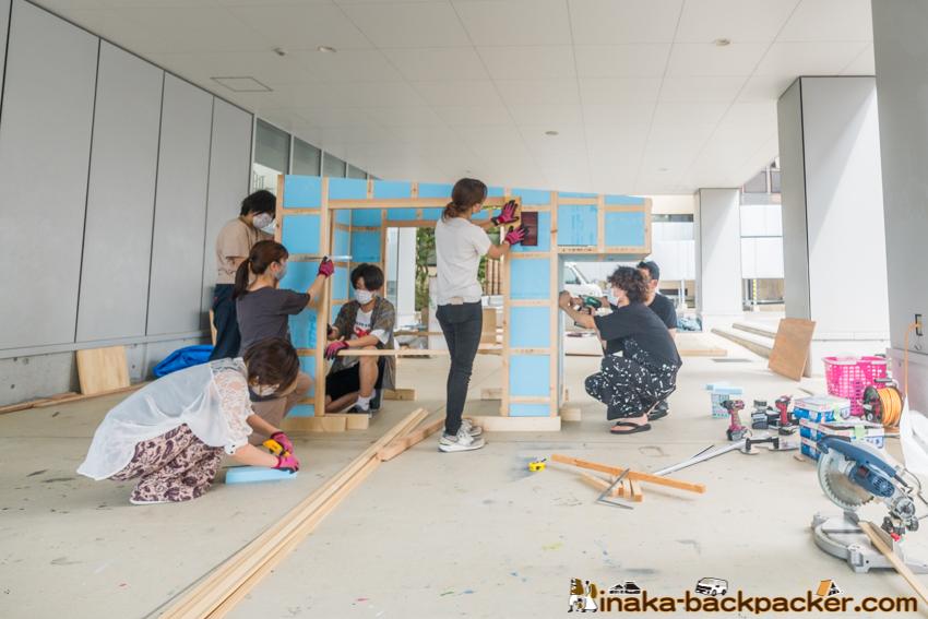 金沢工業大学 モバイルハウス 建築 軽トラハウス