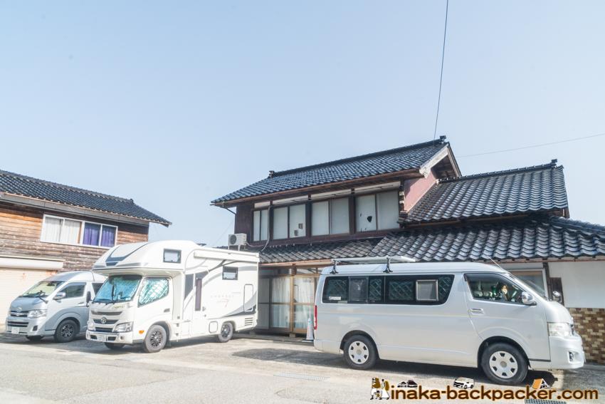 車中泊 穴水町 石川県 rv station in anamizu ishikawa japan