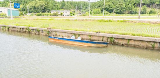 転覆 ボート 処理