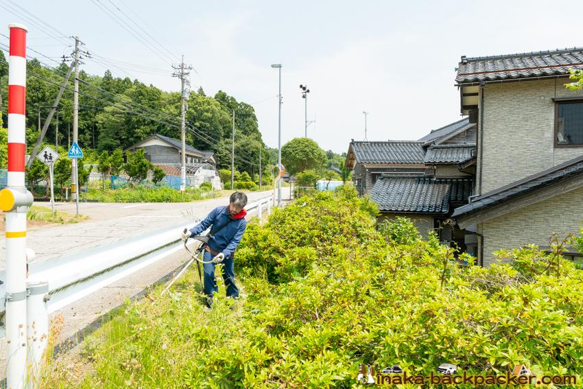 石川県 穴水町 田舎 草刈り どうよ