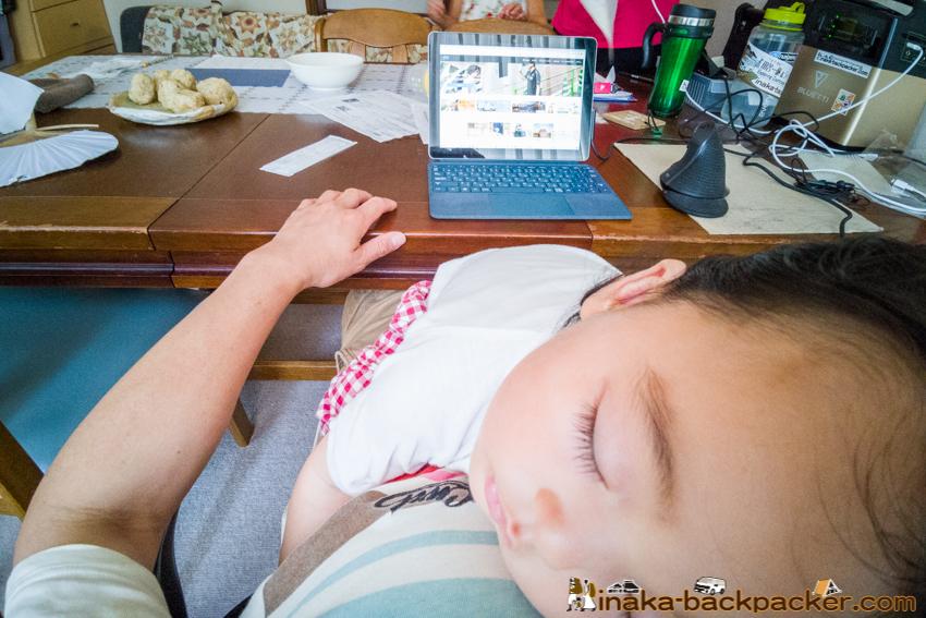 娘 寝かして 仕事 能登 石川県 穴水町 田舎暮らし