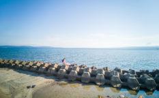 海 プール 田舎暮らし 遊び場 穴水町 岩車 石川県 能登