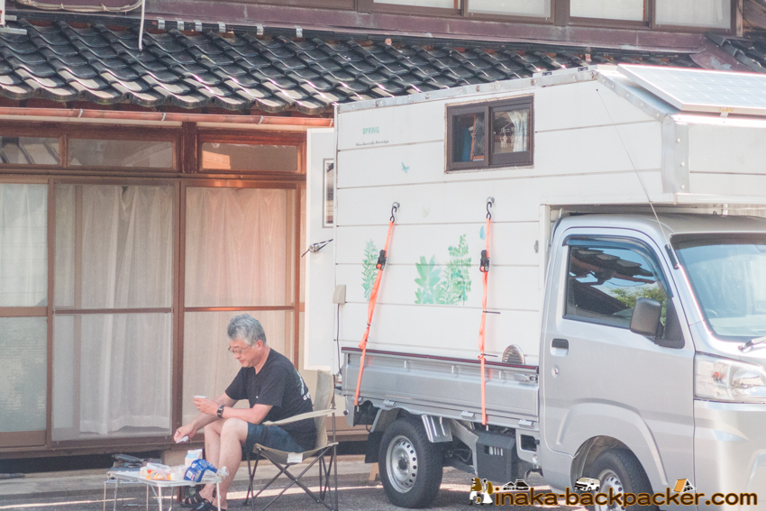 穴水町 車中泊, 朝食, 田舎バックパッカーハウス
